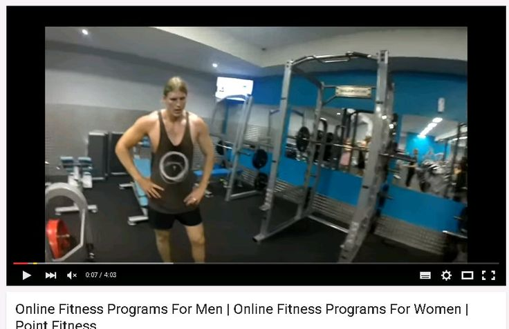 Online Fitness Programs For Men | Online Fitness Programs For Women | Point Fitness