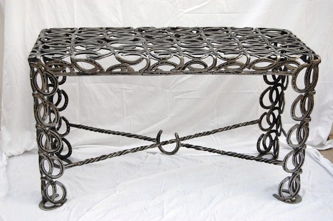 1000+ Images About Things Made Out Of Horseshoes On