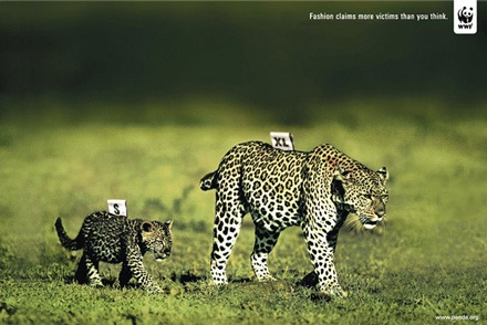 WWF. Fashion claims more victims than you think.