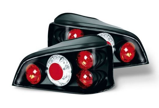 Peugeot 106 1996-2004 Black Lexus Style Rear Tail Lights