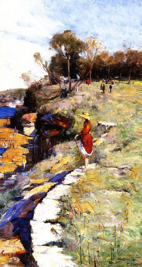 Sunlight Sweet Coogee - Arthur Streeton