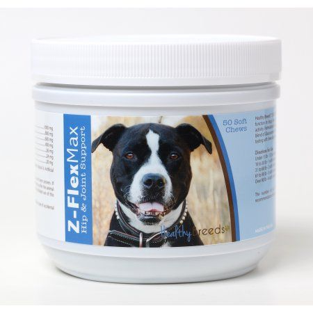 Healthy Breeds Pit Bull Z-Flex Max Hip & Joint Soft Chews 50 Count