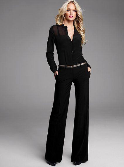The Rosie Wide-leg Pant - Victoria's Secret