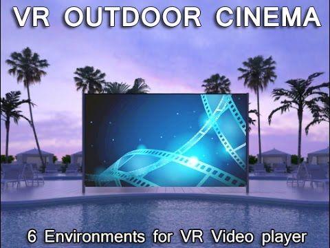 VR Outdoor Cinema