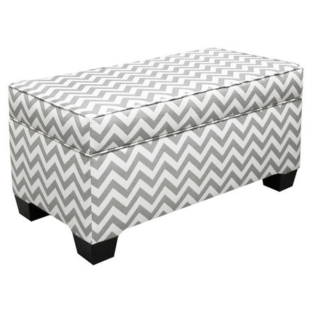 Chevron Storage Bench.