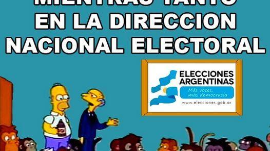 Las demoras en el recuento de votos, el papelón de los encuestadores y la derrota de Aníbal Fernández, en la mirada de los usuarios de la red social.