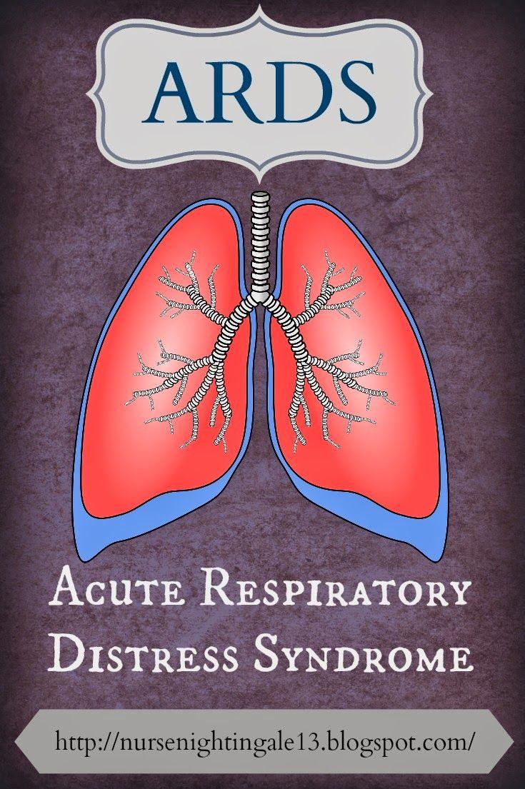 Nurse Nightingale: ARDS {Acute Respiratory Distress Syndrome} Explained Incredibly Easy.  #Nursingschool #ICU http://nursenightingale13.blogspot.com/