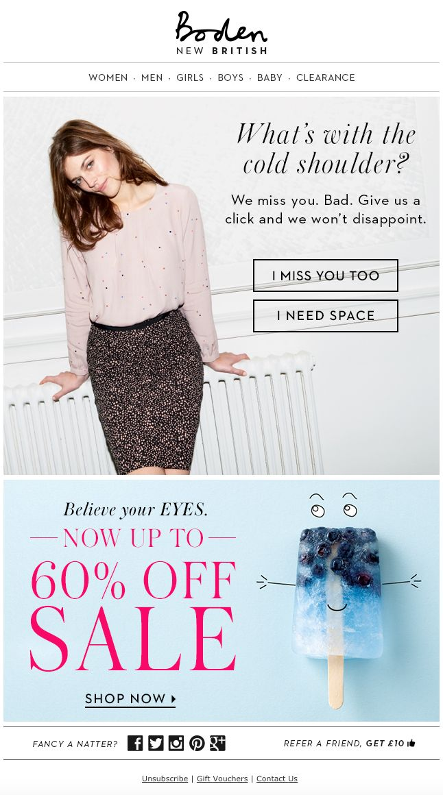 Re-engagement email from Boden - http://ebm.email.boden.co.uk/c/tag/hBW0pd0B7ueMpB8-CcGNsjd3btr/doc.html?t_params=CUSTOMER_SEGMENT_GROUP%3D016D%26EMAIL%3Dakinglyris%2540gmail.com&sc=9J2K