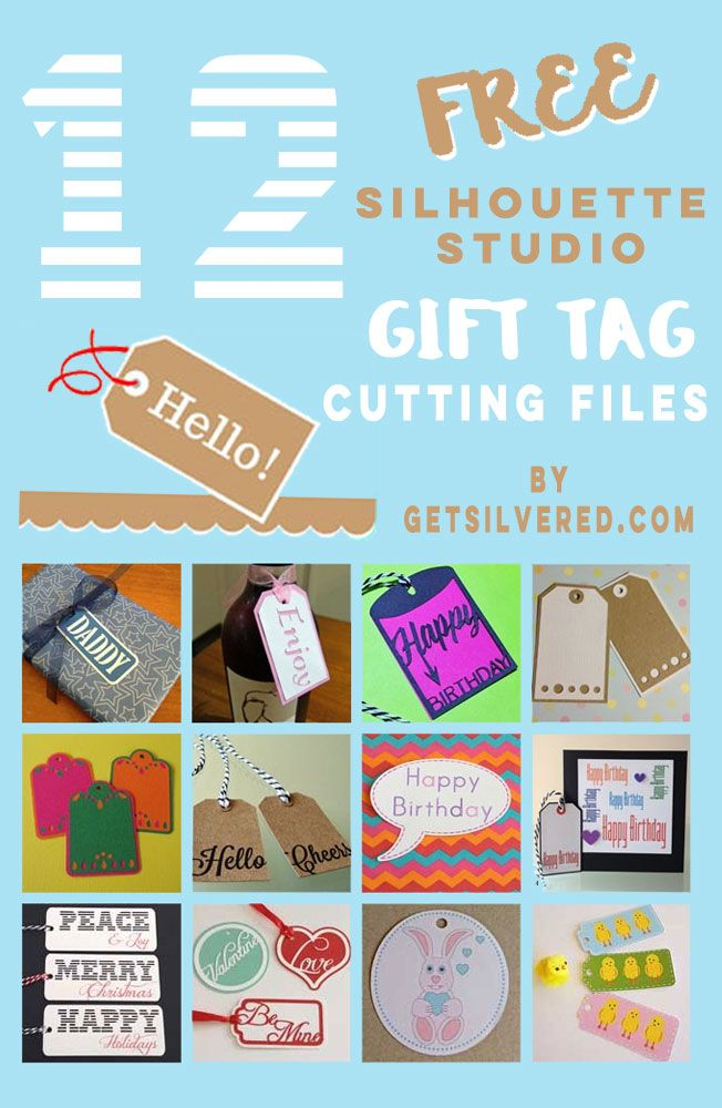 A tutorial - Learn how to make Gift Tags in Silhouette Studio