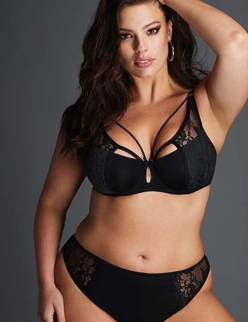 6a73a2a3e71f9 ... Ashley Graham rocking lingerie! Plus Size Models