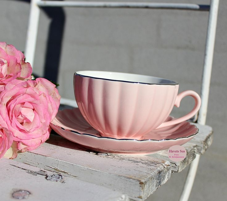 Greengate roses kaffe coffee Havets Sus