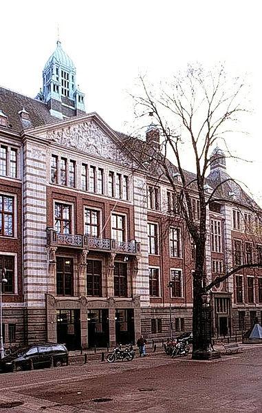Amsterdam Stock Exchange building at Beursplein 5.