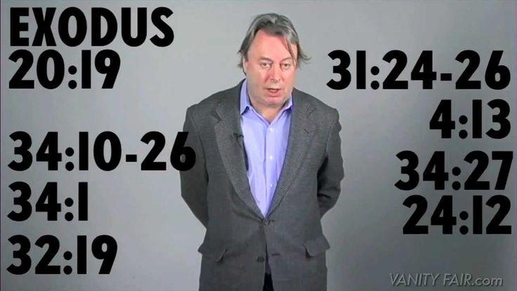Christopher Hitchens Revises the 10 Commandments for the 21st Century |via`tko Open Culture