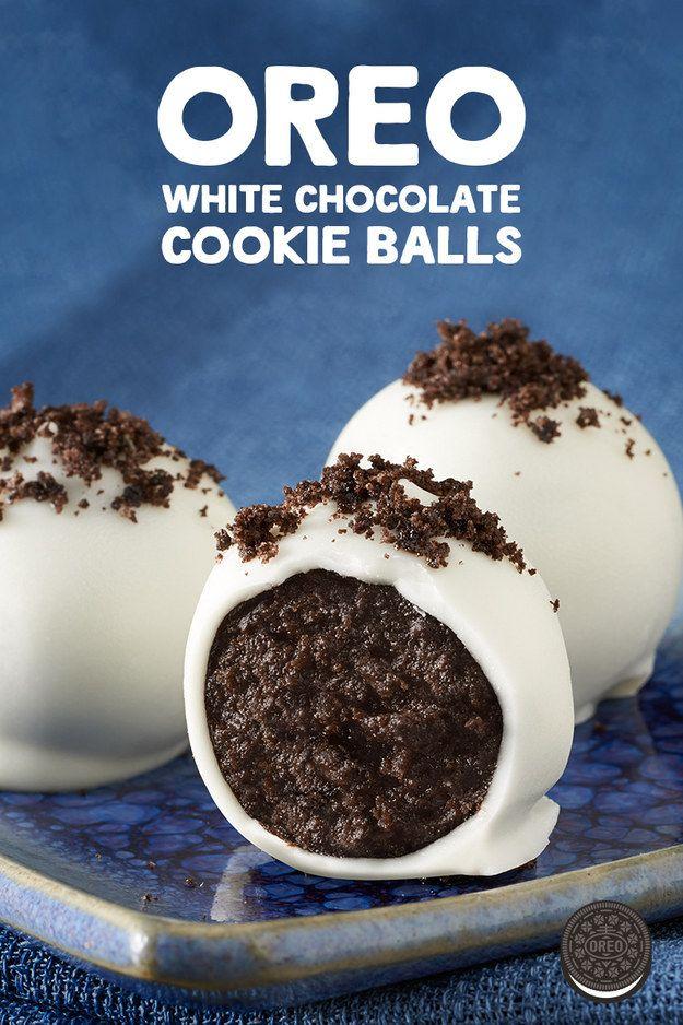 oreo white chocolate cookie balls