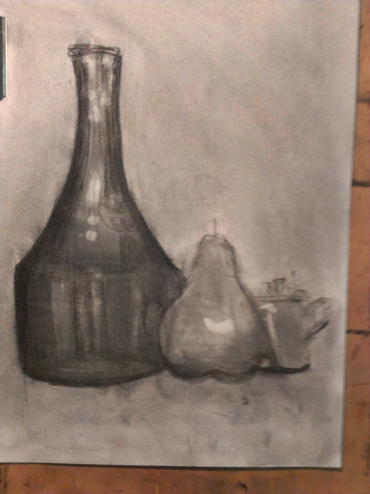 A still life in tone by Anuda aged 9