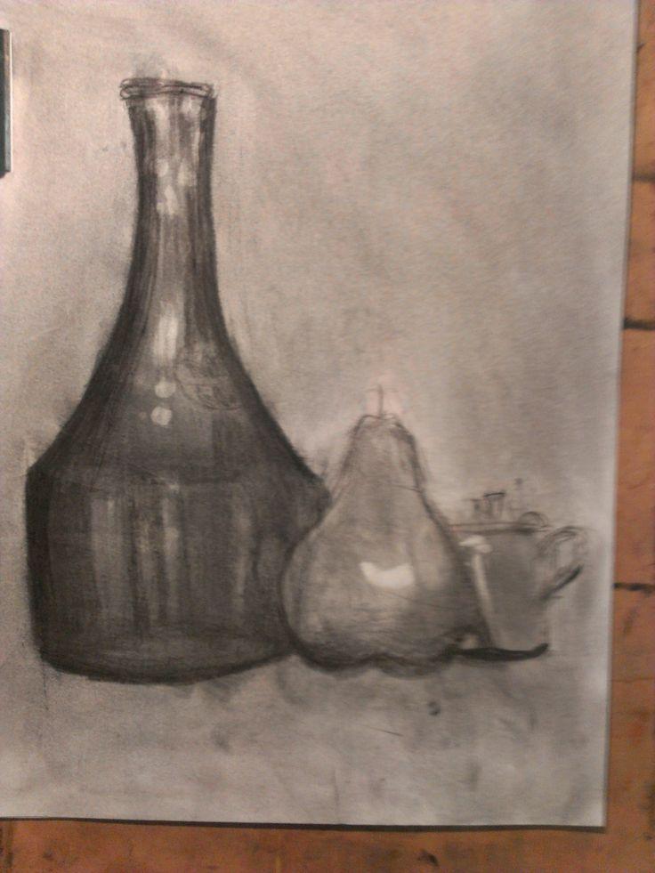 A still life in tone by Anuda aged 9