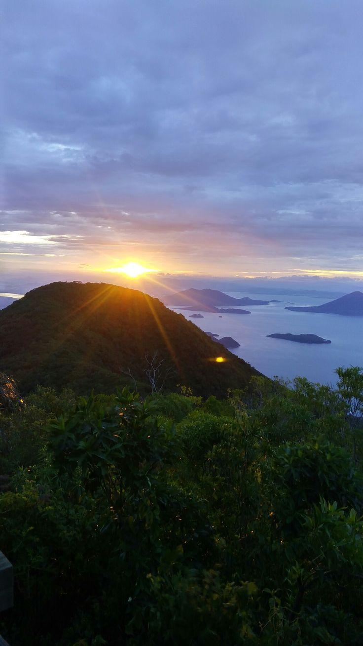 Sunrise @ Volcan Conchagua, La Union El Salvador. One of the best ones I've seen!