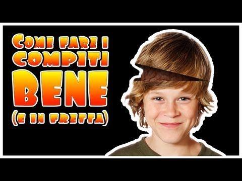 COME FARE I COMPITI BENE (E IN FRETTA) - YouTube
