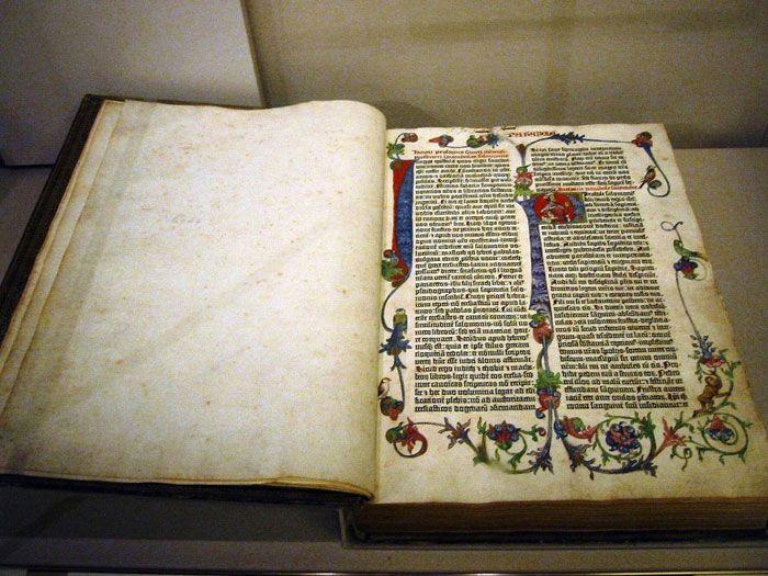 The Gutenberg Bible 1
