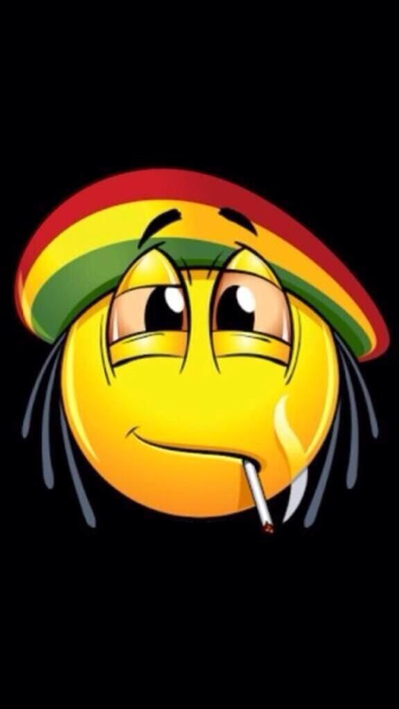 Omg i had no idea what it was until i pinned it. I thought that it was a reggae emoji i did not see the cigarette