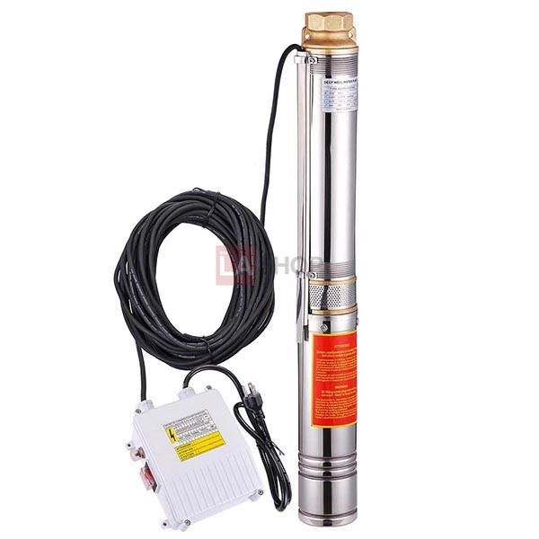 Shop Stainless Steel Deep Well Pump from theLAShop.com - With external control box, heavy duty motor could run underwater about 164ft. High quality with good price.