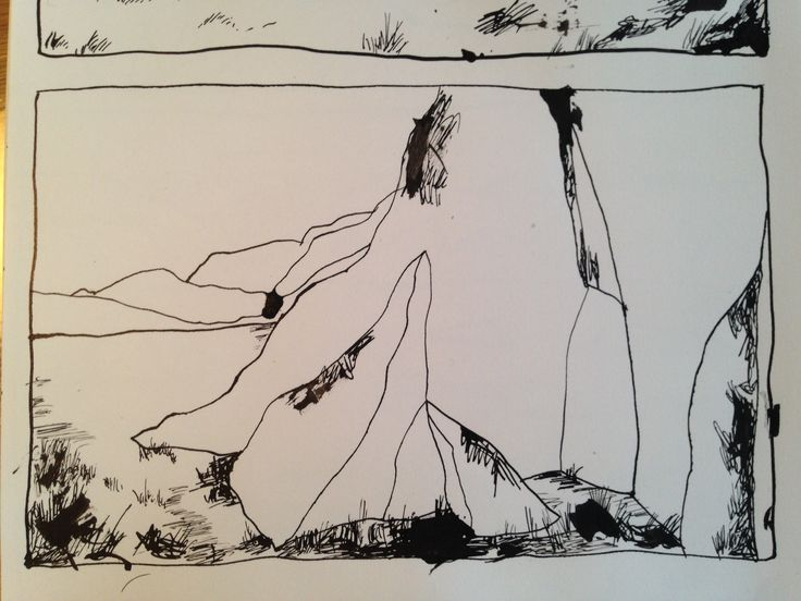 Greenland drawing for a book
