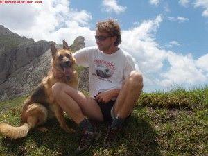 Esattamente un anno fa la mia fedele amica a quattro zampe mi ha lasciato. Andare in montagna con il cane era una cosa che a me piaceva molto.