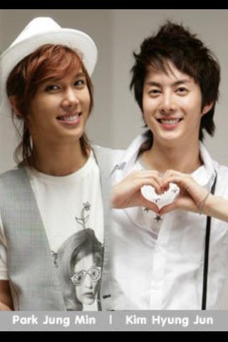 Park Jung Min and Kim Hyung Jun