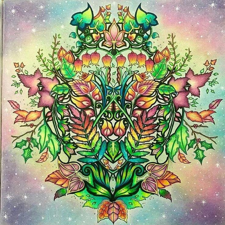 39 Best J Basford Glockchenblumen Images On Pinterest