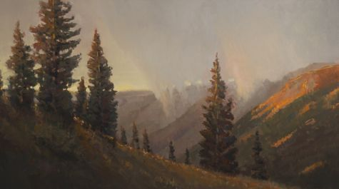 Red Mountain Pass by Peter Campbell