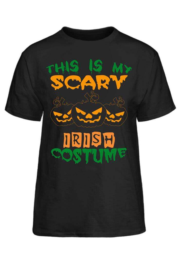 Halloween Shirt - This Is My Scary Irish Costume T-Shirt