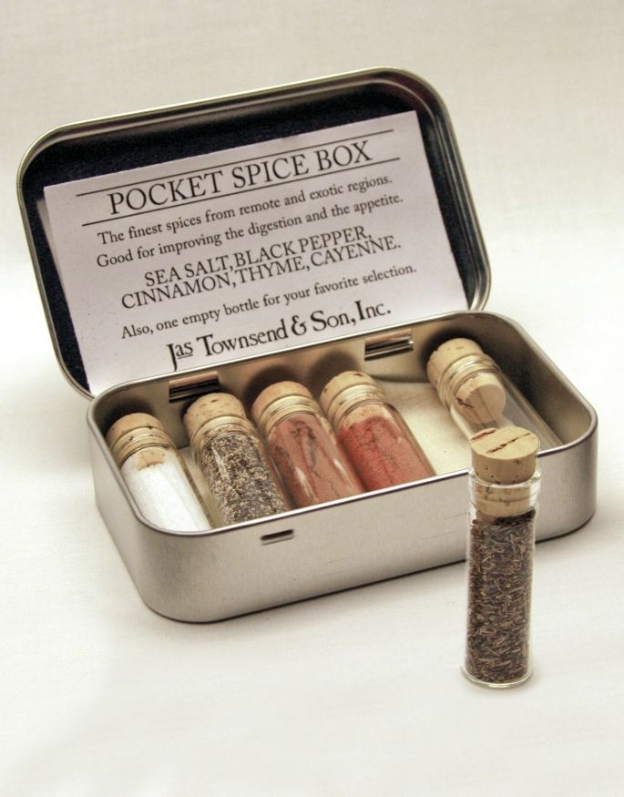 Pocket Spice Box PSB-20, Jas. Townsend and Son, Inc.