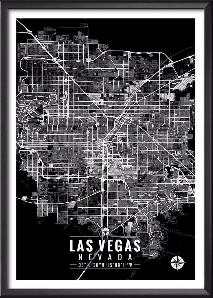 Map Of Paisley%0A Las Vegas Nevada Map with Coordinates