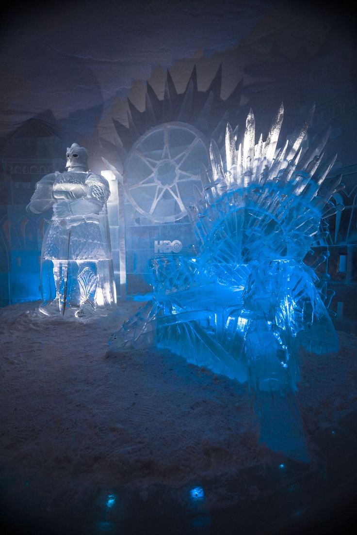Lapland Hotels SnowVillage Game Of Thrones Ice Hotel