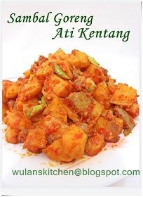 Wu Lan's Kitchen: Sambal Goreng Ati Kentang