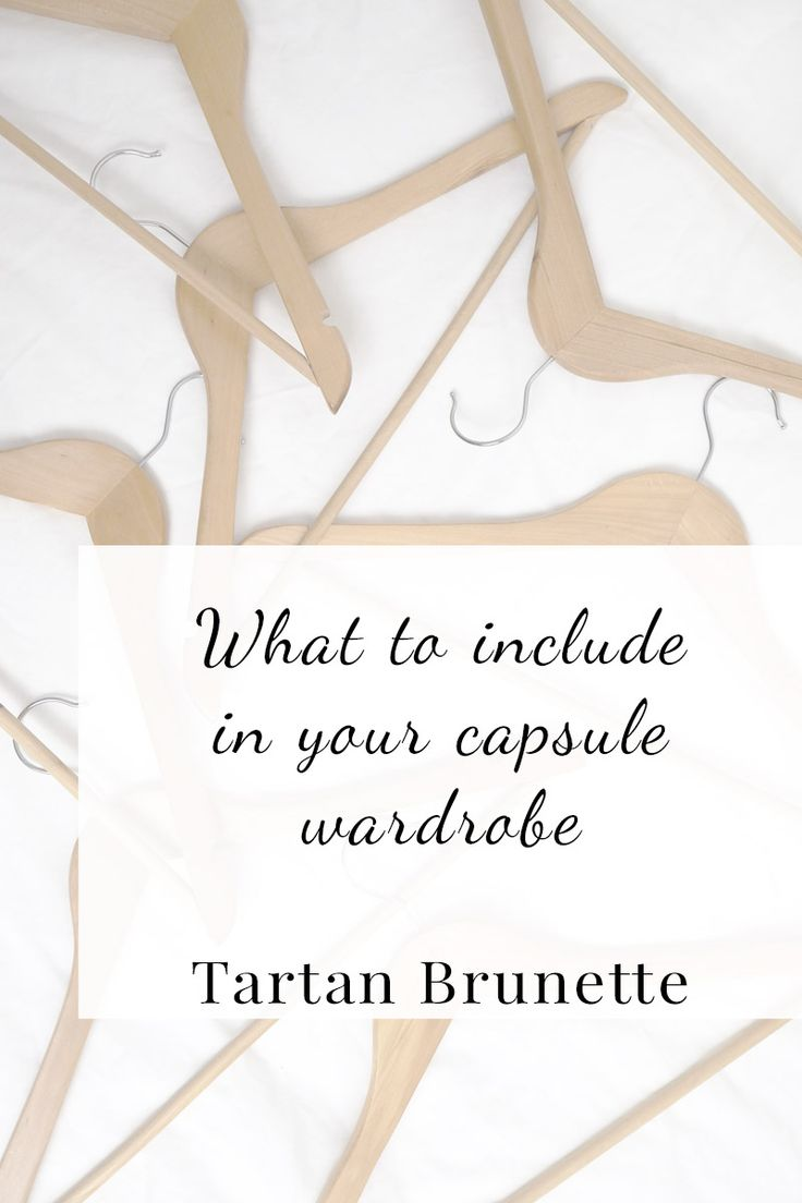 What to include in your Capsule Wardrobe Thinking of creating a capsule wardrobe but have no idea what you should include. Click through to read what you should include in your capsule wardrobe. And just as importantly what you should not include in your capsule wardrobe