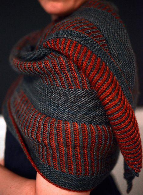Briochealicious by Andrea Mowry | malabrigo Sock in Persia and Boticelli Red