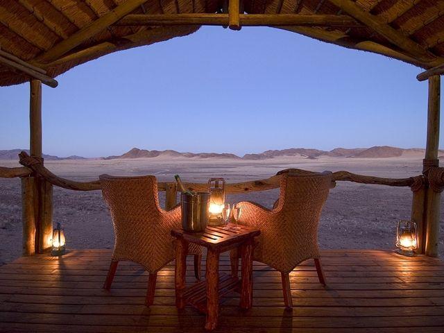 Kulala Wilderness Camp  http://www.africanwelcome.com/namibia/sossusvlei/kulala-wilderness-camp