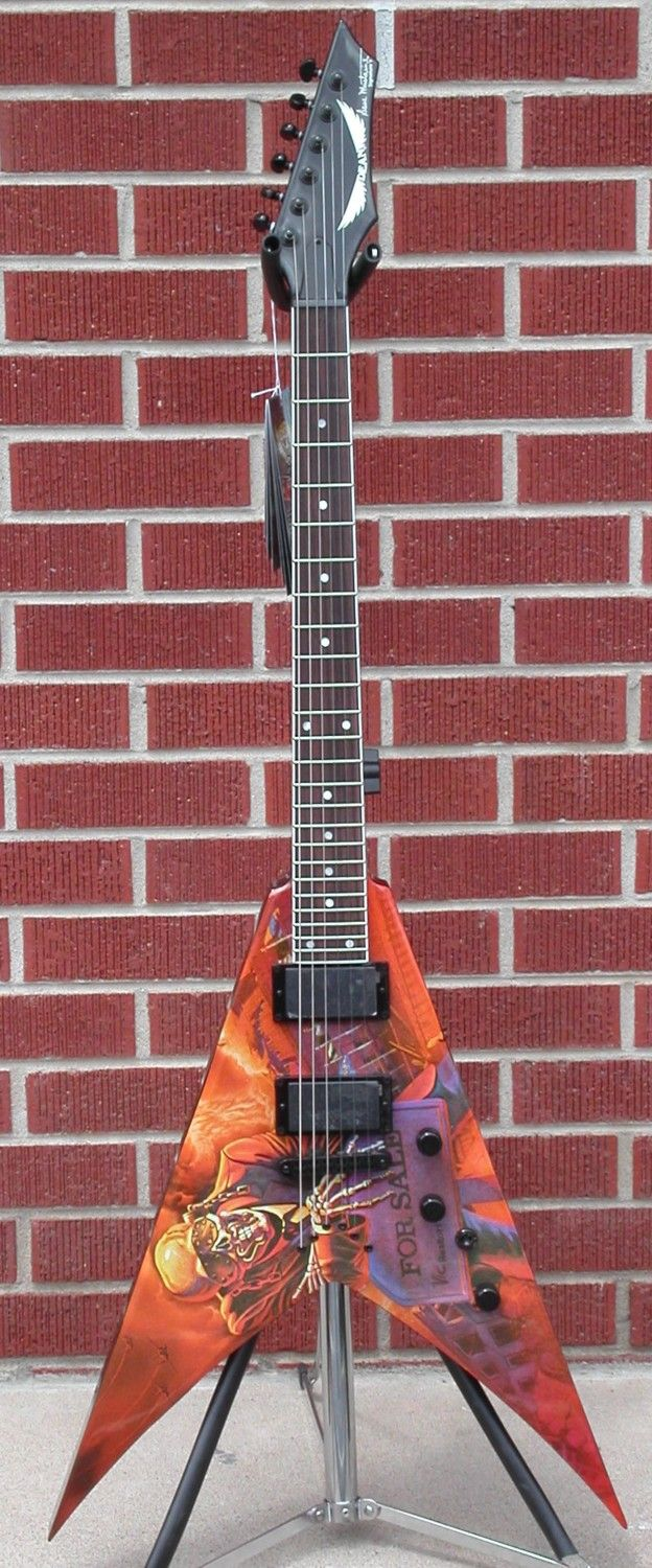 Dean Dave Mustaine VMNT Peace Sells 2012 6 String Electric Guitar