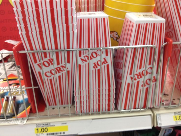 Family Movie Night:  Grab some of these popcorn containers from the Dollar Spot: Families Movie Night, Spots Ideas, Group Ideas, Families Memories, Night Ideas, Youth Group Theme, Games Night, Movie Theme, Family Movies