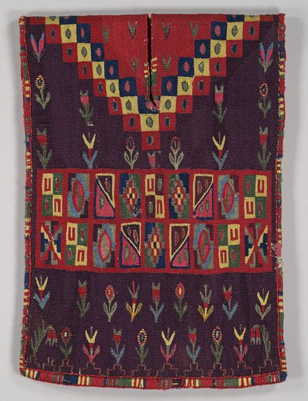 Miniature Tunic (Uncu) [Bolivia (Potosí)] (2007.470) | Heilbrunn Timeline of Art History | The Metropolitan Museum of Art