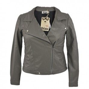 DeLuca Biker jacket D151526 kol.Grey
