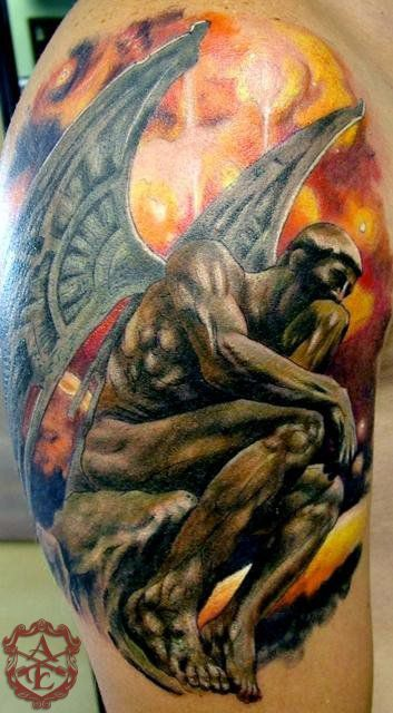 tattoo de denker - Google zoeken