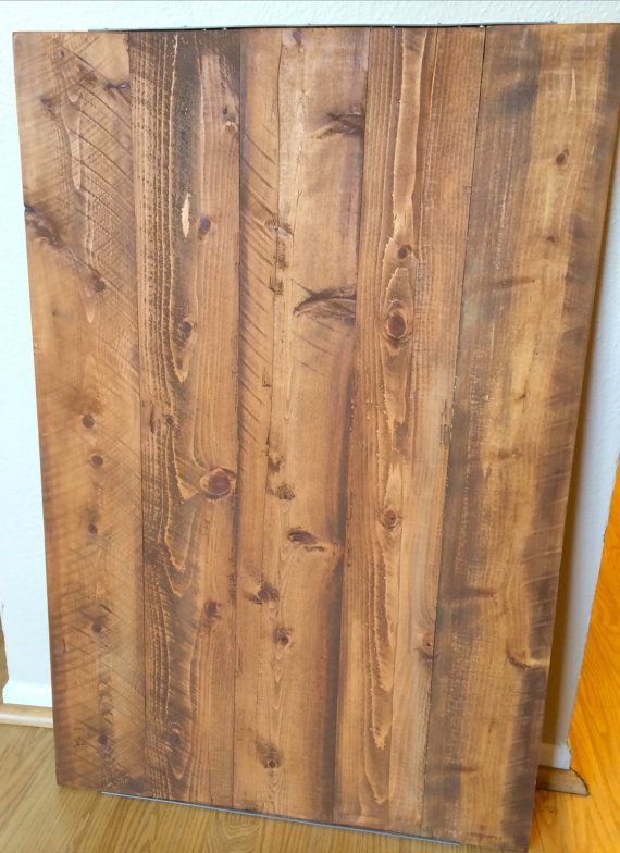 Double Sided Distressed Brown/Shabby Chic от EricksonWoodWorks