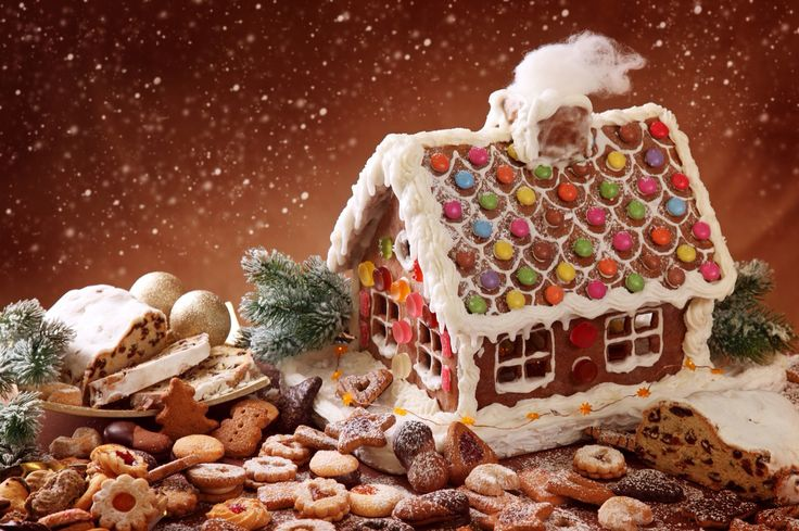 Gingerbread house cottage