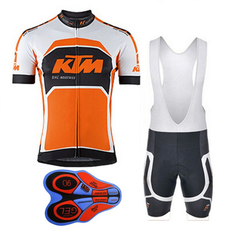 ==> [Free Shipping] Buy Best 2017 KTM Mens Cycling Jersey Summer Mtb Bike Clothing Bicycle Short Sleeves 9D Bib Shorts Suit Maillot Ciclismo Sportswear F1705 Online with LOWEST Price | 32816904619