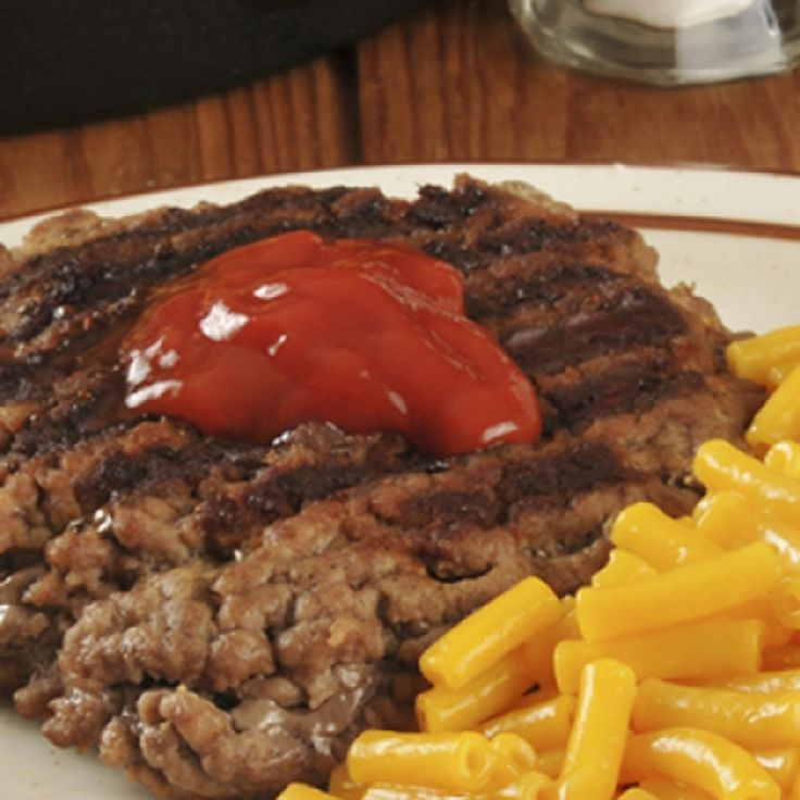 This hamburger steak recipe is a great meal that kids will enjoy.. Hamburger Steak Recipe from Grandmothers Kitchen.