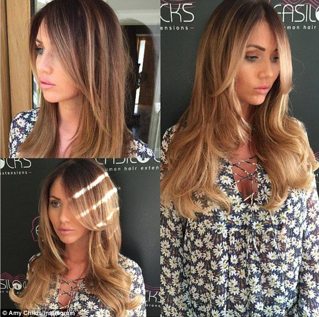 21 best easilocks hair extensions images on pinterest hair amy childs shows off new honey blonde hairdo on family night out easilocks hair extensionshoney pmusecretfo Choice Image
