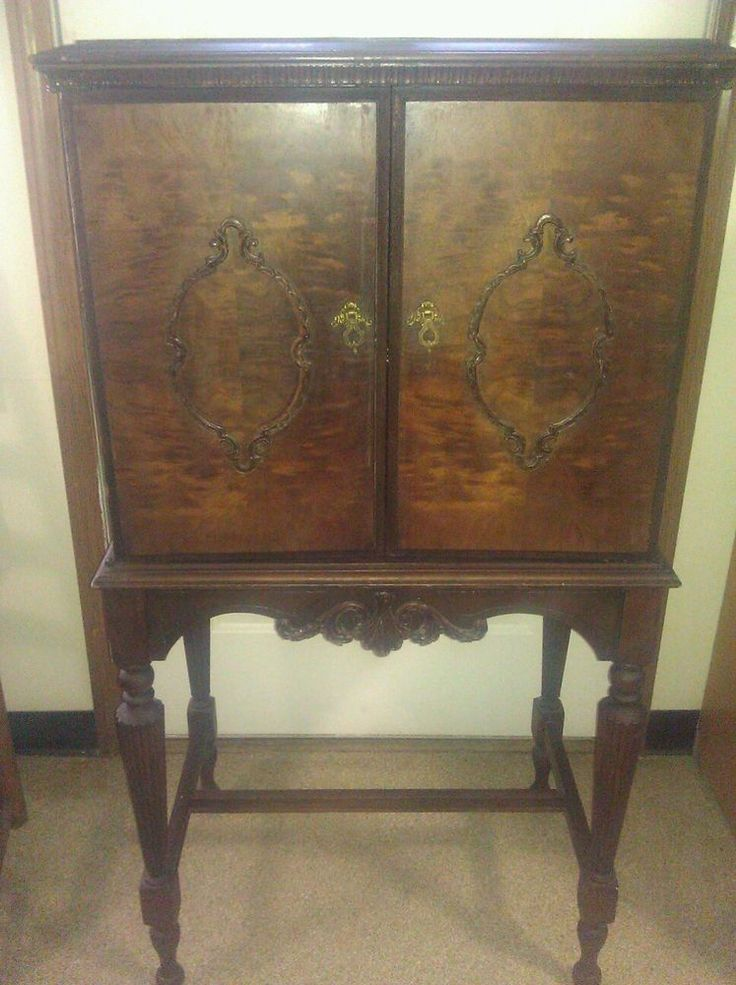 1920s Liquor Cabinet  The Real Deal