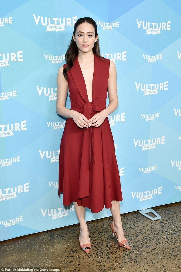 Emmy Rossum was asked to audition in a bikini 'to see if she was fat' #dailymail